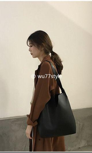 Black Ulzzang Bag