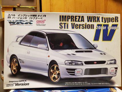 Subaru WRX STI 4 代 Type R 模型