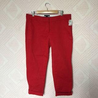 TOMMY HILFIGER RED PANTS