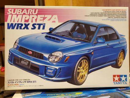 Subaru WRX 模型