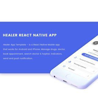 Health React Native APP Source Code