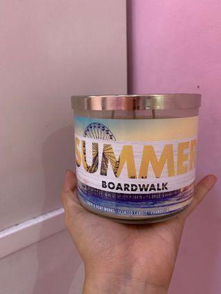 Bath and Body Works BBW 3 Candle Wicks - Summer