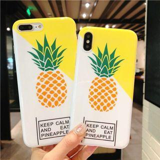 PREORDER Keep Calm And Eat Pineapple Phone Case