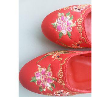 Chinese Wedding Tea Ceremony Shoes