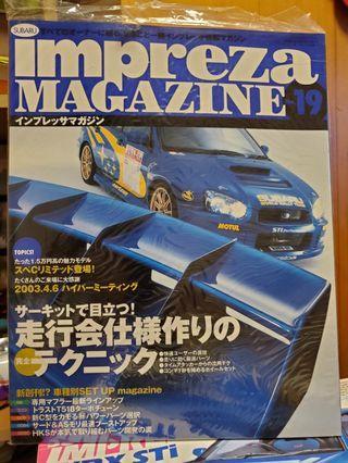Subaru WRX 車書