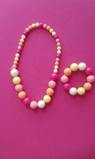 🚚 Kids necklace and Bracelet