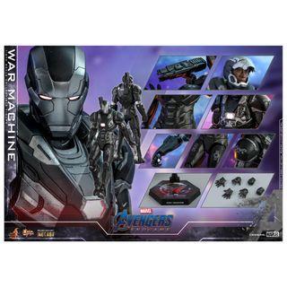 PRE-ORDER : Hot Toys MMS530D31 Avengers: Endgame - War Machine