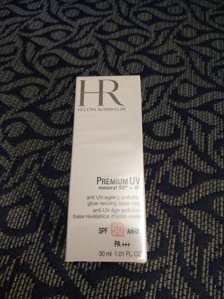 HR premium uv 抗衰老防曬隔離乳30ml spf50