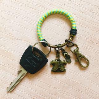 🚚 手作 平靜日常 復古鑰匙圈