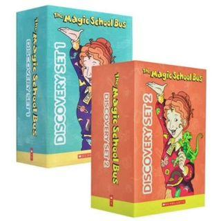 🚚 THE MAGIC SCHOOL BUS DISCOVERY SET 1 & 2 (TOTAL 20 BOOKS)