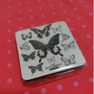 6 butterfly coasters | European Style Home Decoration
