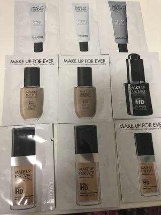 Make up forever foundation sample 包平郵