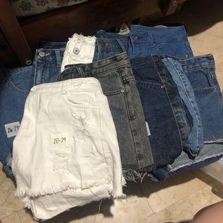 Denim Shorts Prepacked Bundle