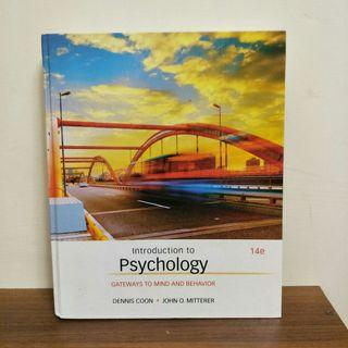 🚚 Introduction to Psychology: Gateways to Mind and Behavior 14版