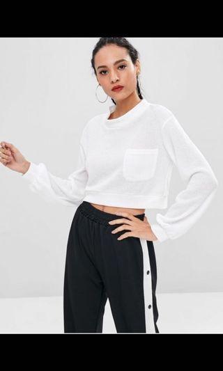🚚 Pocket Crop Sweatshirt