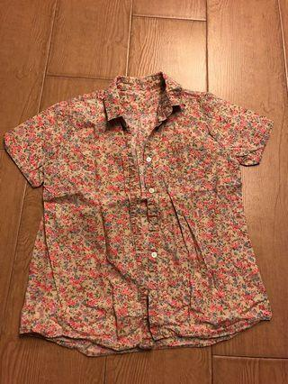 Floral shirt from Japan