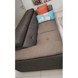 Luxury sofa 2+3+storage stool