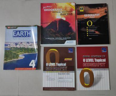 O Level Geography Text Assessment & Guide Books