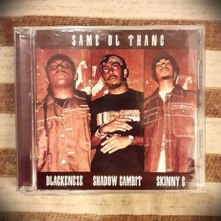 'Same ol Thang' by Blackeneze, Shadow Gambit & Skinny G Single CD