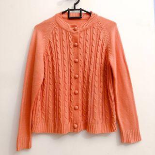 Vintage Cable Cardigan (with deffects)