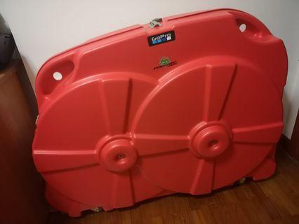 Hard case bike box