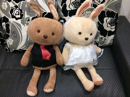 贈送 Rabbit 伊莎貝爾兔子