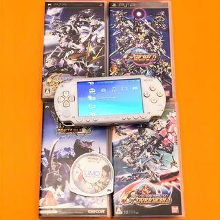 Sony PSP 1000 with 5 games and charger