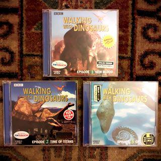 BBC 'Walking with Dinosaurs' VCD Set