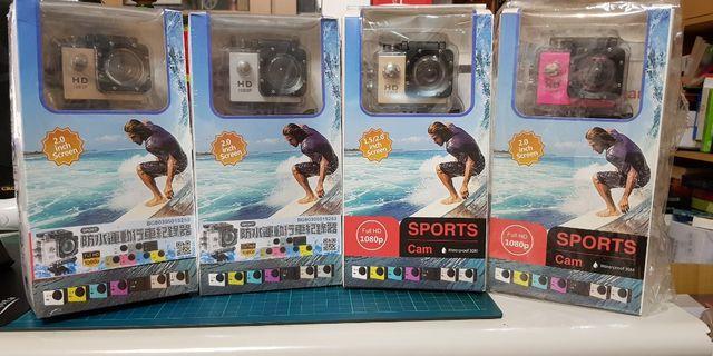 New sport/bike cam*4 (water proof)