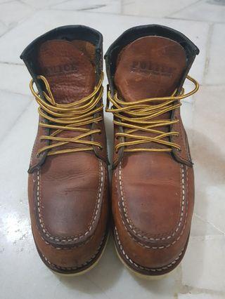 Original Police Shoe Safety Boot Steel Toe