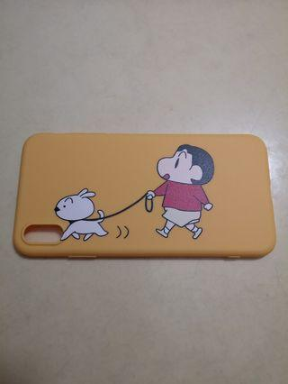 iPhone XS Shin Chan Rubber Case