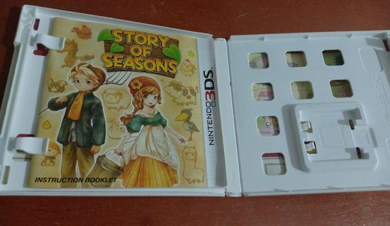 3DS  Games Casing only (Story of Season)