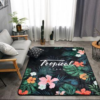 Colourful Tropical Carpet