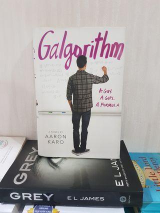 [Hard Cover] Novel Inggris Novel Import Galgorithm . NEGOTIABLE