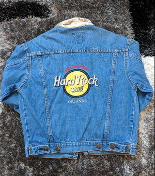Vintage Hard Rock Cafe Jean Jacket