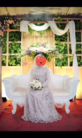 Disewakan gaun pengantin