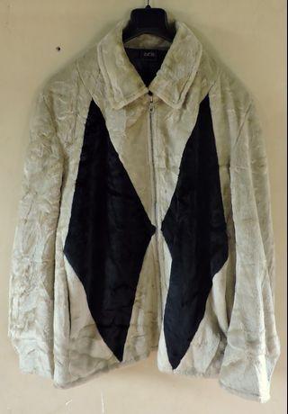 Authentic RCB Faux Fur Jacket Jaket Branded Original Import