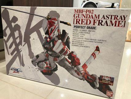 MBF-P02 Gundam Astray Red Frame Perfect Grade