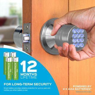Perfect for Rentals !! Doorlock with eKeys