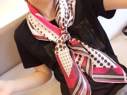 LV 斜纹真丝方巾