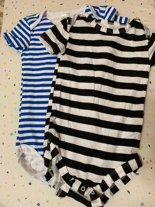 FLASH SALE, a set of Baby boy Romper