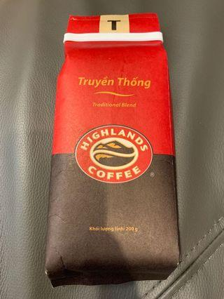 🚚 越南 highlands coffee 高原咖啡 - Traditional Blend 200g