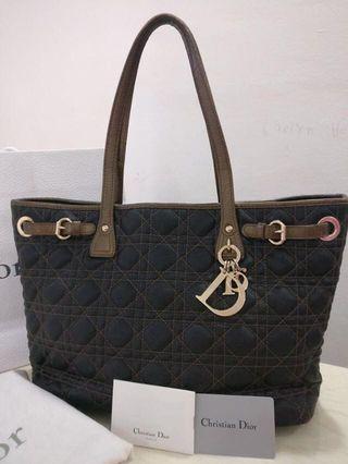 e6ff375e204b Christian Dior Lady Cannage Tote
