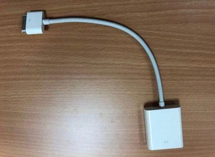 Original Apple Adapter for old iPad to VGA