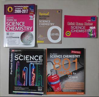 O Level Science Chemistry Assessment Books