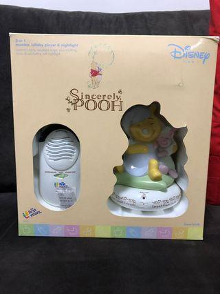 The first year x Winnie the Pooh 3 in 1 baby monitor bb toy with nightlight lullaby player disney