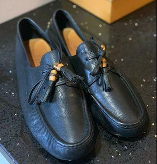GUCCI Black Loafers Size 11