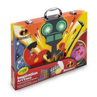 🚚 美國crayola 繪兒樂 超人特攻隊2大藝術家套裝 蠟筆 彩色筆