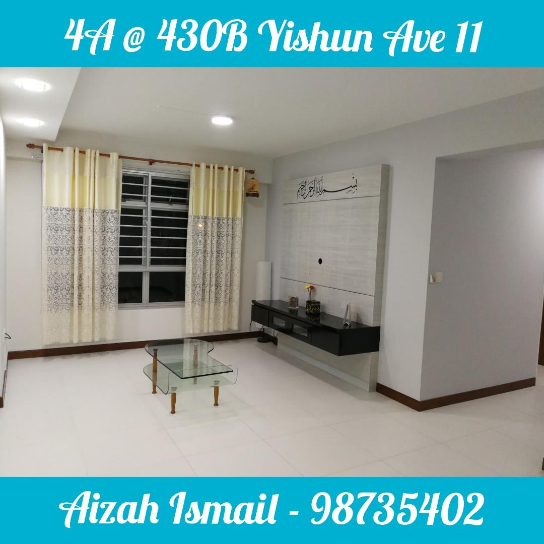 4A @ Blk 430B Yishun Ave 11, Property, For Sale, HDB on