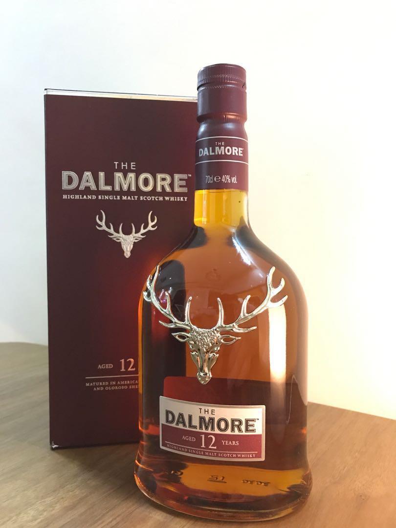 (市價8折)Dalmore大摩12年高地單一純麥威士忌